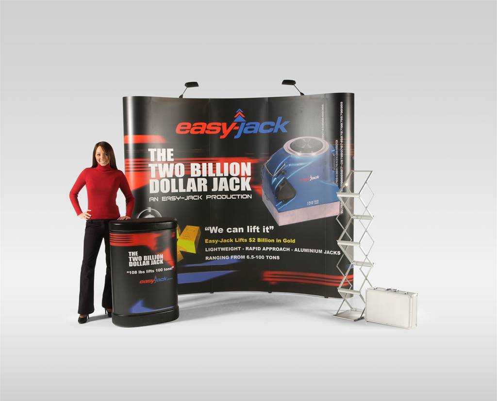 Creative Outdoor Lighting Solutions Pop-up Display Bundle 1 - The Image Group Manchester