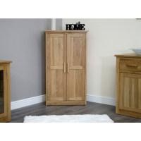Arden shoe storage cabinet cupboard rack hallway solid oak ...