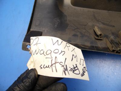 02-05 Wrx impreza OEM under dash cover compartment fuse box diagram