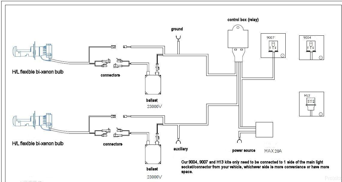 Bi Xenon Wiring Diagram 9007 Get Free Image About Wiring Diagram On