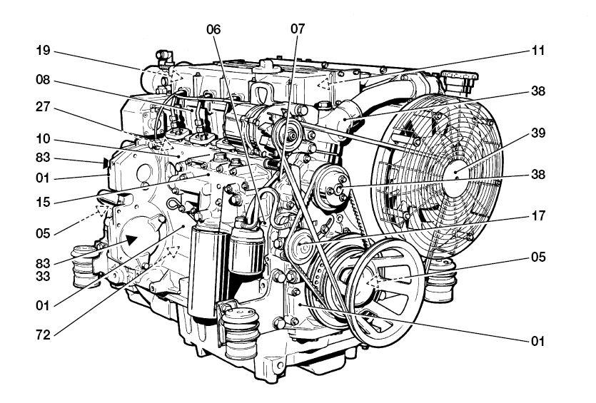 deutz injector pump diagram