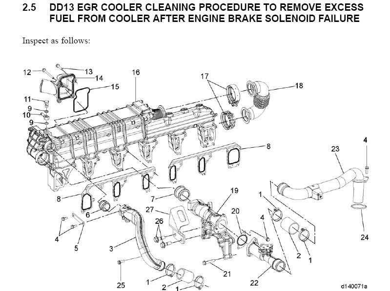 detroit engine belt diagram