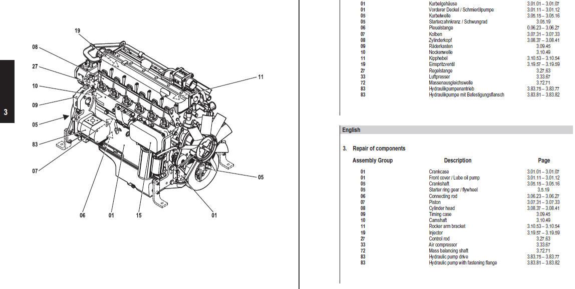 deutz engine wiring diagram