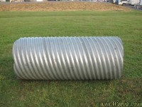 "CORRUGATED STEEL BRIDGE CULVERT DITCH PIPE 30"" INCH ..."