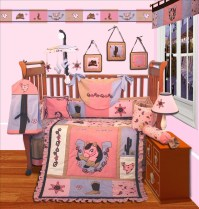 Musical Mobile For Western Cowgirl Baby Crib Bedding | eBay