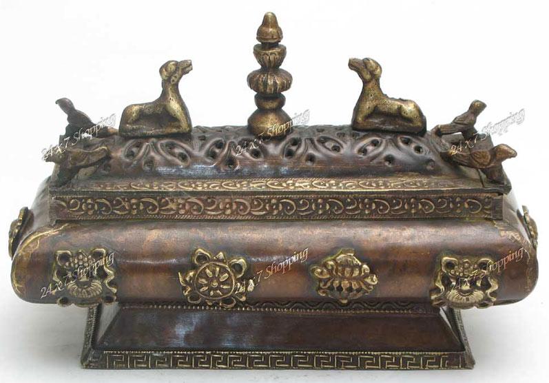 Shopping24x7 Copper Brass Tibetan Tibet Symbol Insence