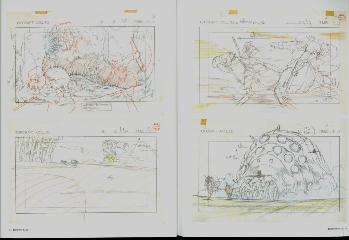 nausicaa_of_the_valley_of_the_wind_concept_art_storyboard_03