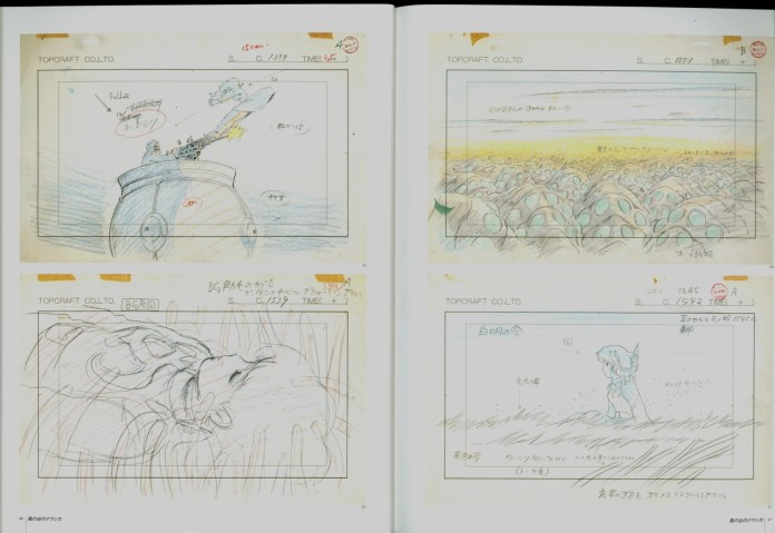 nausicaa_of_the_valley_of_the_wind_concept_art_storyboard_07
