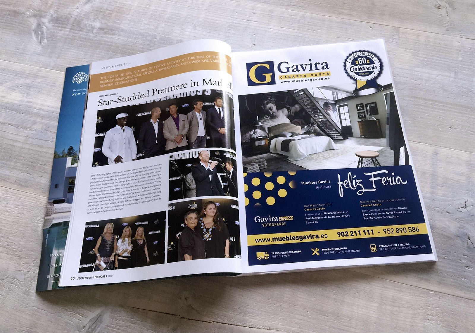 Muebles Gavira Magazine Advertisement Design For Muebles Gavira