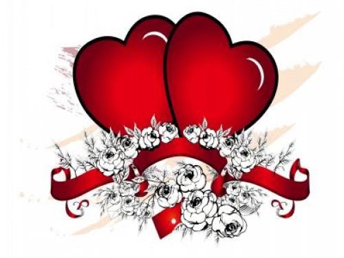 Imágenes de rosas con corazones - rosas y corazones