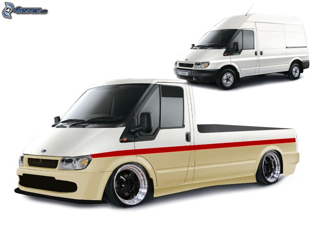 Diesel Wallpaper Cars Ford Transit Tuning