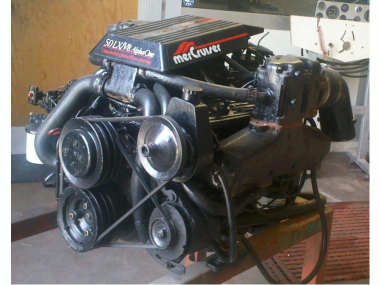 Ford 260 Ignition Wiring Motore Mercury Mercruiser 5 0 Lx V8 De Segunda Mano 49665