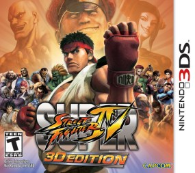 Super Street Fighter IV – 3D Edition Boxart Cover