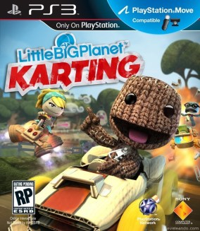 LittleBigPlanet Karting Boxart Cover