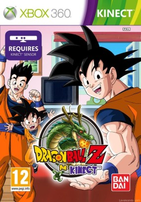 Dragon Ball Z para Kinect Boxart Cover