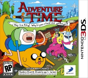 Adventure Time: Hey Ice King! Why'd you steal our garbage?! Boxart Cover