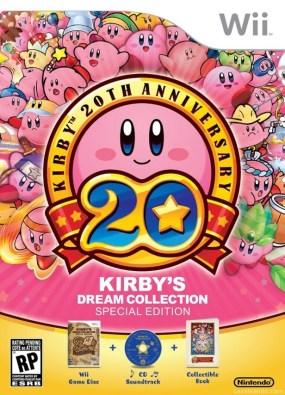 Kirby's Dream Collection Boxart Cover