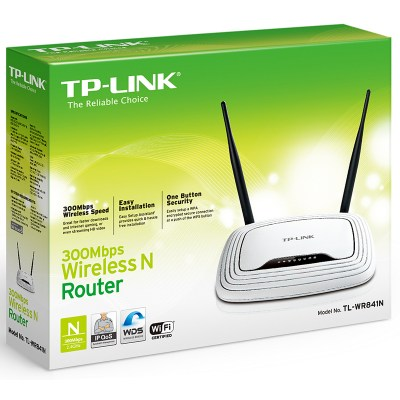TP-LINK TL-WR841ND Wireless Router Neutro 11n