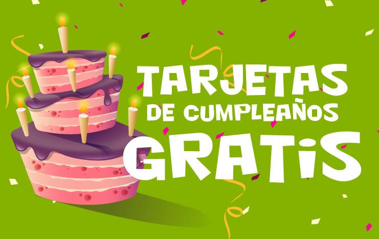 TARJETAS DE CUMPLEAÑOS ® Postales con frases de felicitación