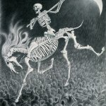 imagenes de la santa muerte en dibujos (2)
