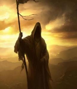 imagenes de la santa muerte dorada (4)
