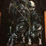 Santa Muerte con perros3