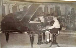 Concierto de Sta. Cecilia 1955 en el Teatro Principal Fernando Chicano Martínez2.