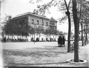 Paseo del Coso, 1885. Mariano Tenllado y Nieto.