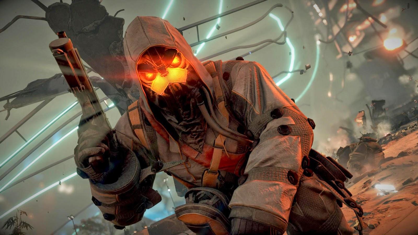 Killzone Shadow Fall Ps4 Wallpaper Portadas Para Youtube 2048 215 1152