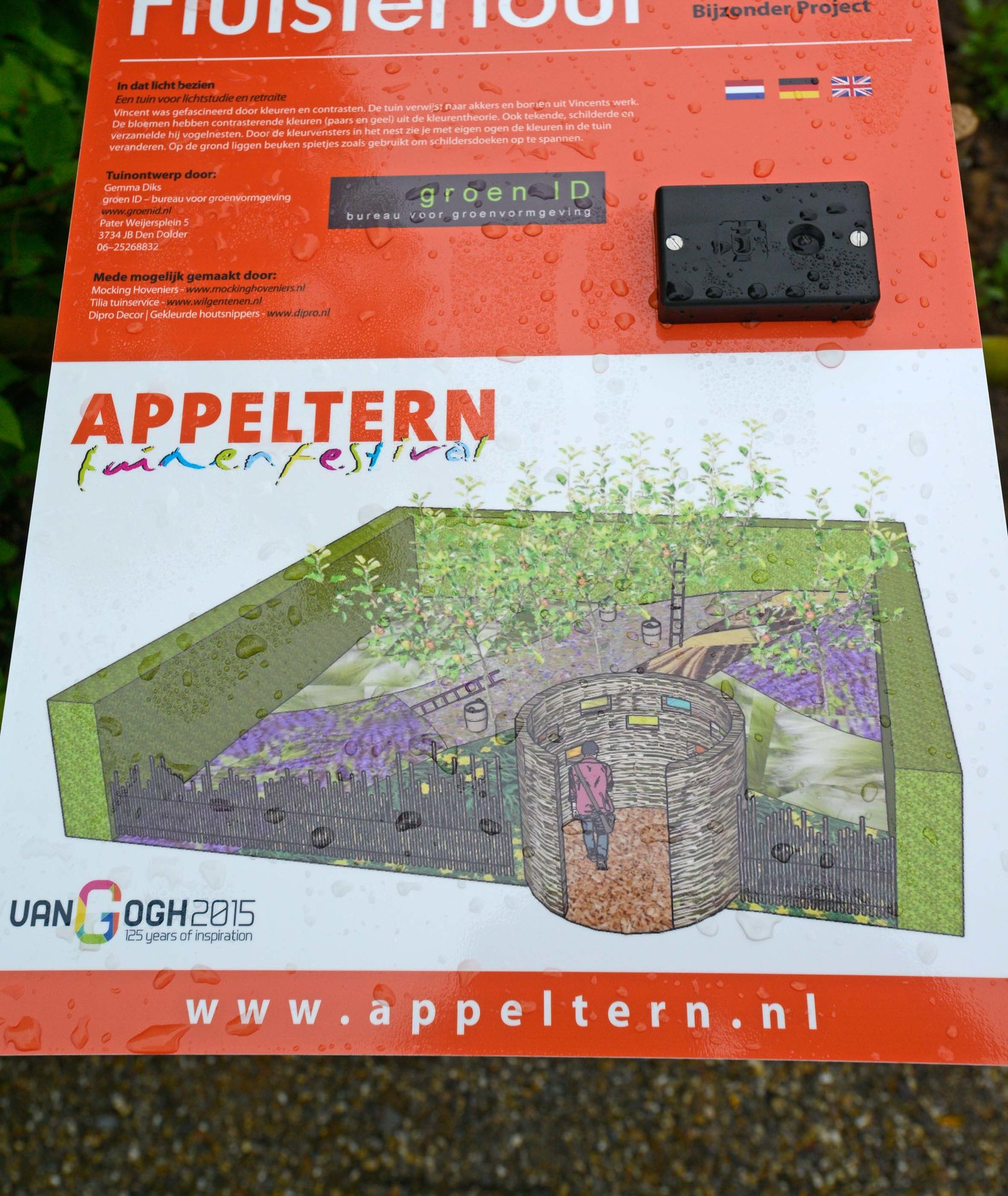 Mocking Hoveniers Appeltern Tuinfestival 2015