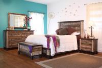 International Furniture Direct 900 Antique King Bedroom ...