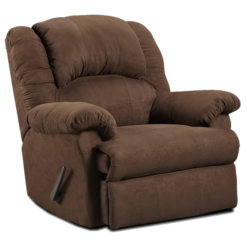 1000 Chaises Rocker Recliner With Chaise Seating 1000 By Affordable Furniture