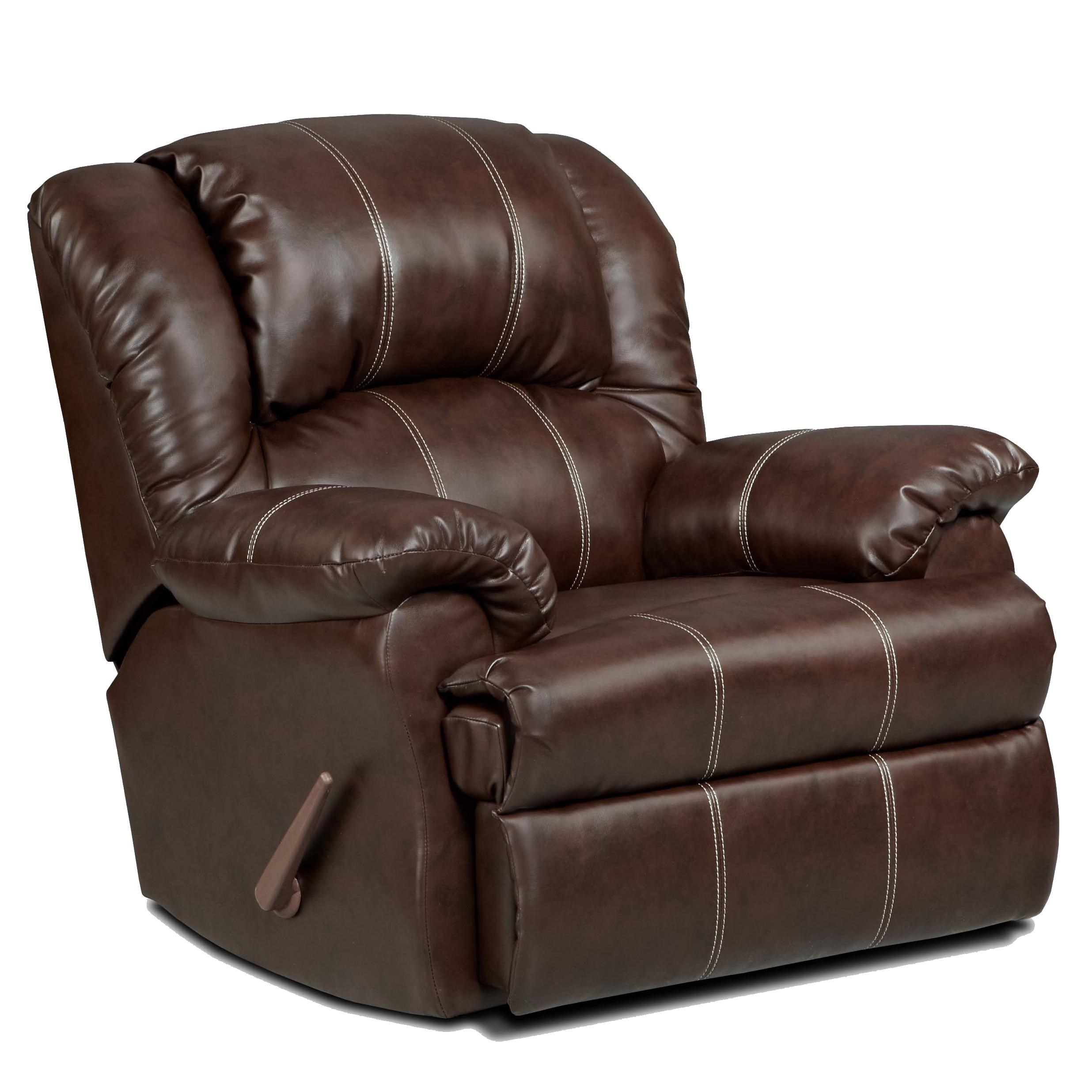 1000 Chaises Affordable Furniture 1000 Rocker Recliner With Chaise Seating