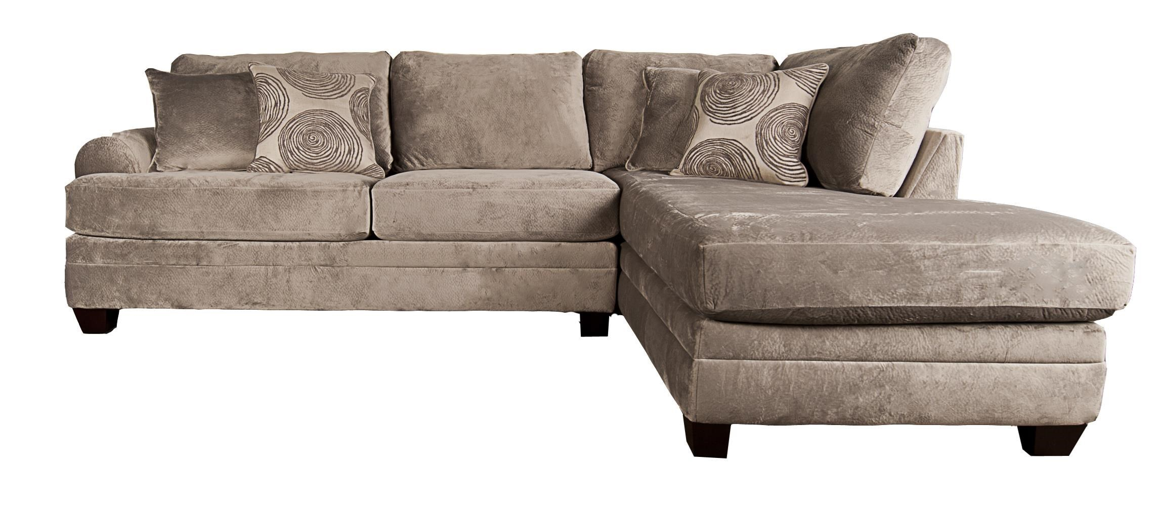 Sectional Bed Sofa Agustus Classic Sectional Sofa With Accent Pillows By Morris Home At Morris Home