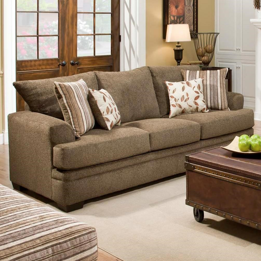 American Sofa Images 3650 Casual Sofa With 3 Seats By American Furniture At Vandrie Home Furnishings