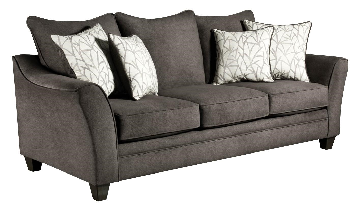 American Sofa Images 3850 Elegant Sofa With Contemporary Style By American Furniture At Royal Furniture
