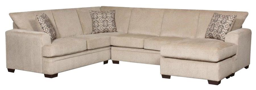 Sectional Bed Sofa 6800 Sectional Sofa With Right Side Chaise By American Furniture At Miskelly Furniture