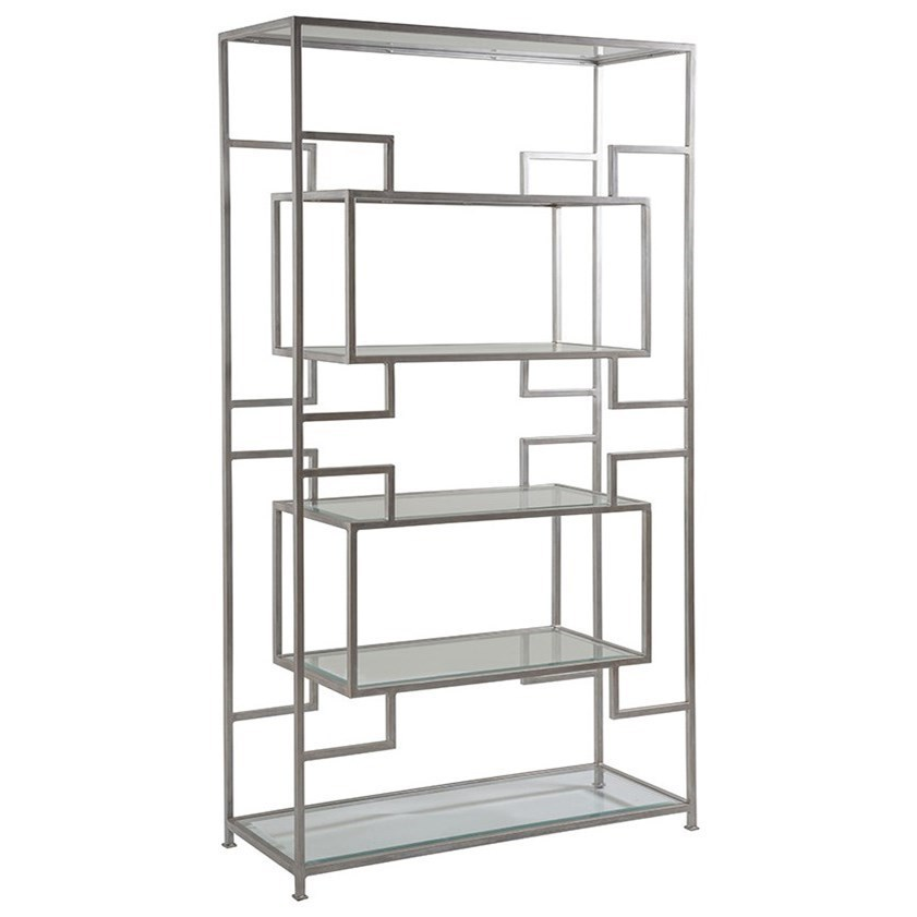 Etagere Metal Artistica Metal Suspension Etagere With Five Glass Shelves By Artistica At Baer S Furniture