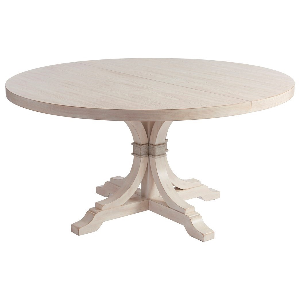 Round Dining Table With Extensions Barclay Butera Newport Magnolia 60