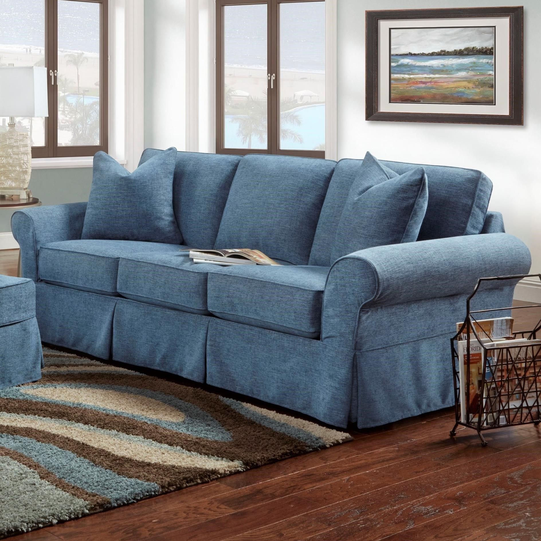Denim Sofa Bauhaus Ava Sofa With Slipcover Colder S Furniture And Appliance