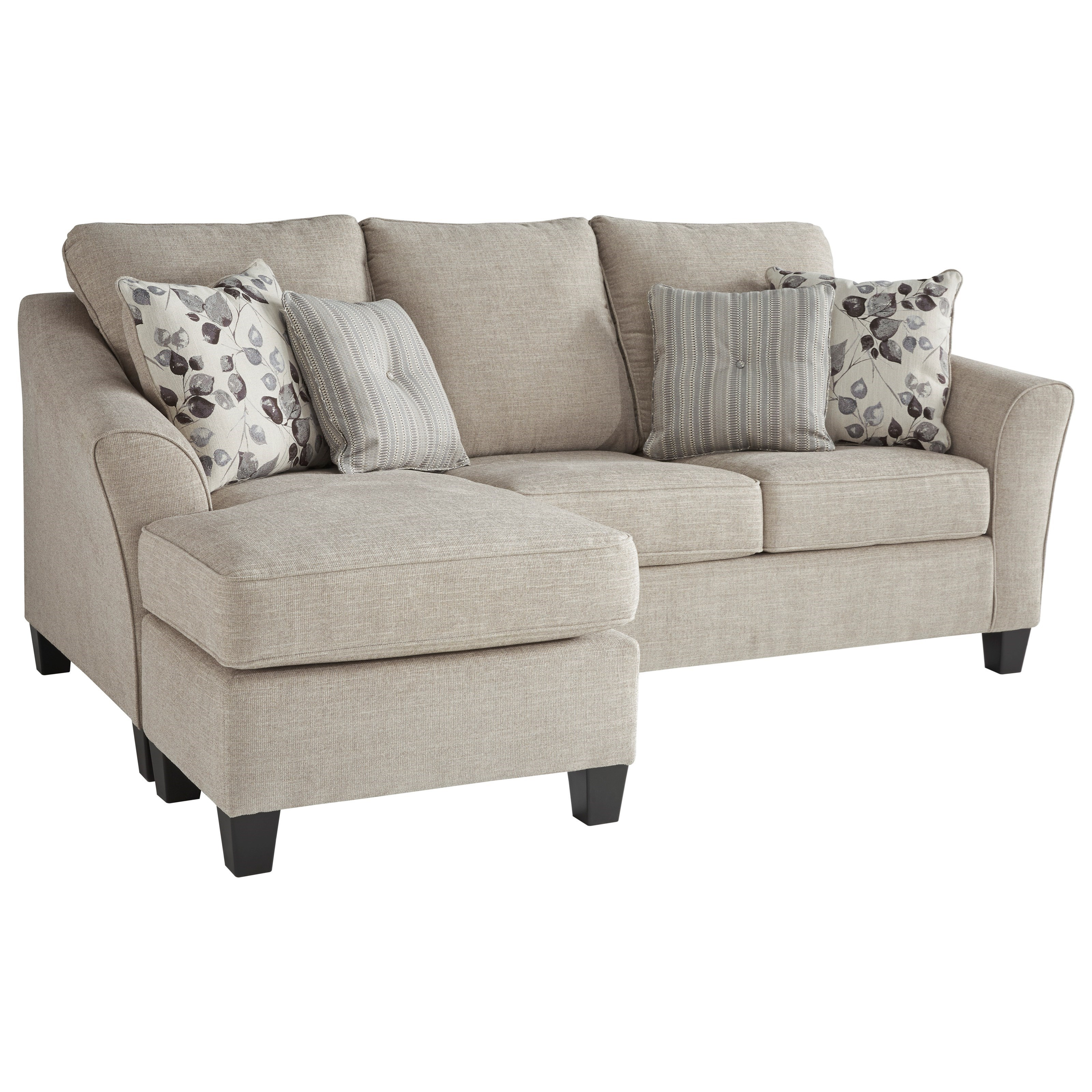 Sofa S Benchcraft Abney 4970118 Sofa Chaise With Flared Track Arms