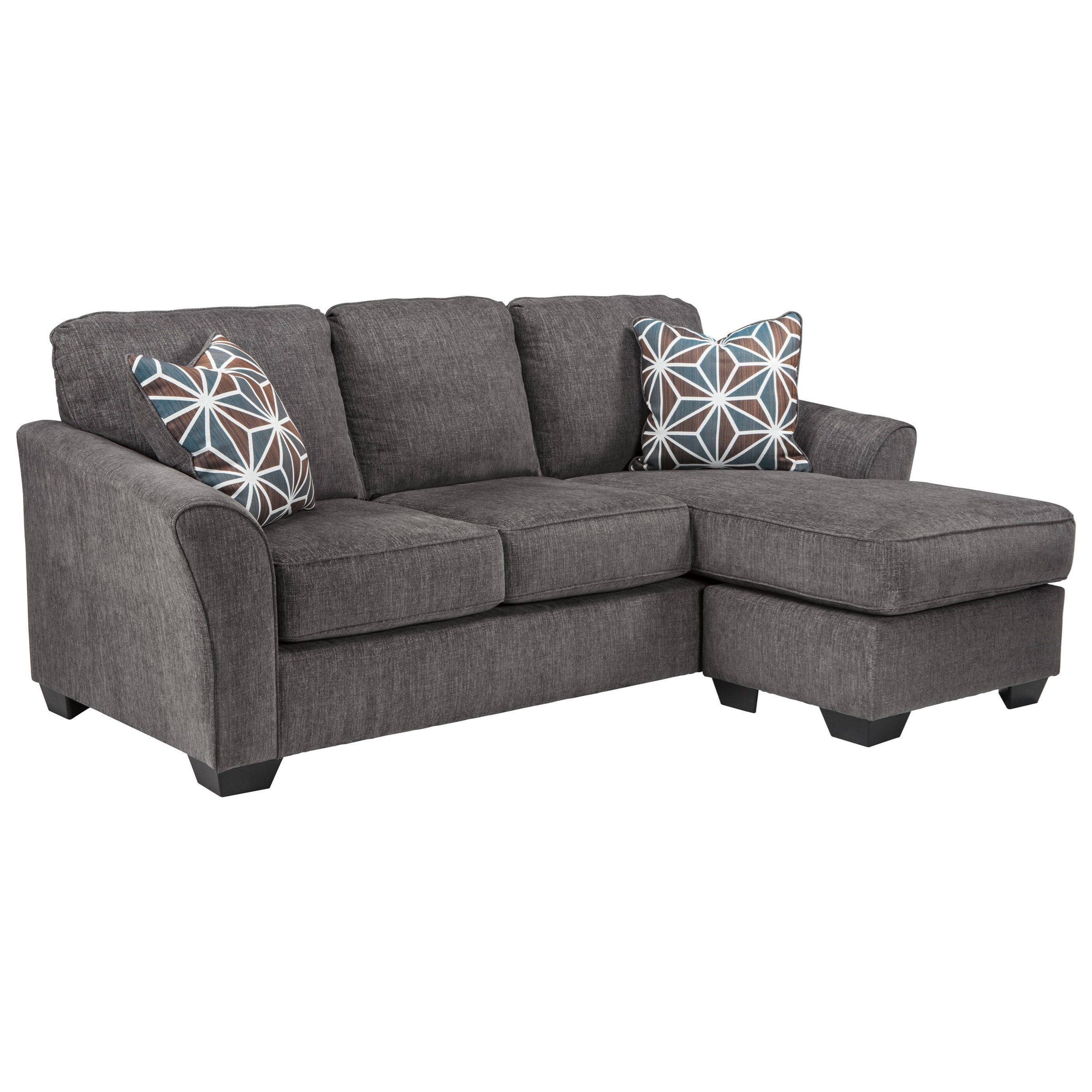 Contemporary Couch Brise Casual Contemporary Sofa Chaise By Ashley At Becker Furniture World