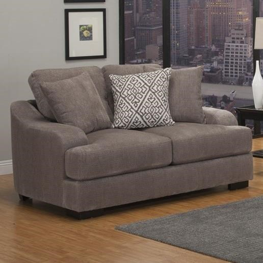 Sofa With Foam Seats Rowland Casual Stationary Loveseat With Plush Gel Foam Seating By Benchley Furniture Co At Michael S Furniture Warehouse