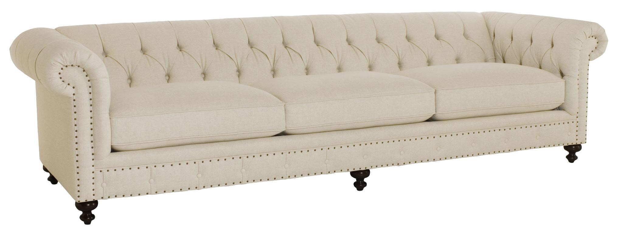Bernhardt London Traditional Styled Long Sofa 116 5