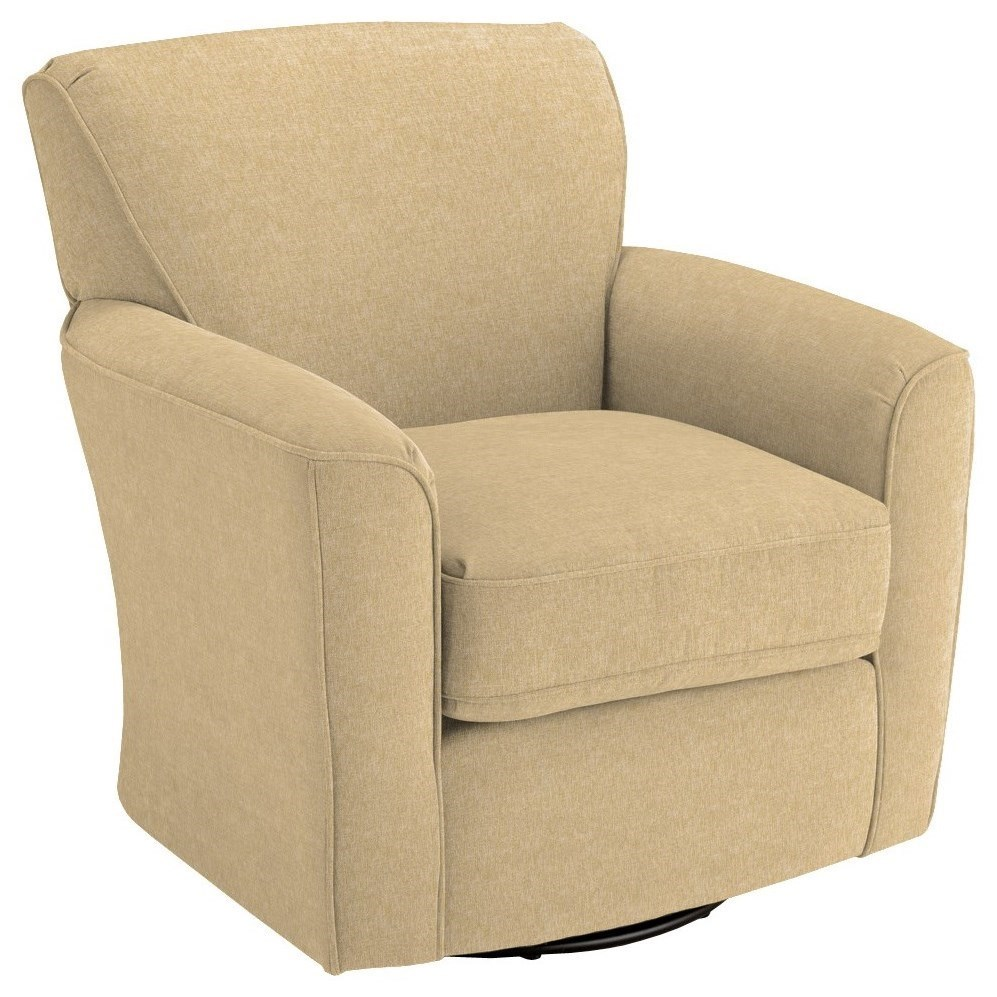 Arm Chairs Swivel Glide Chairs Kaylee Swivel Barrel Arm Chair By Vendor 411 At Becker Furniture World