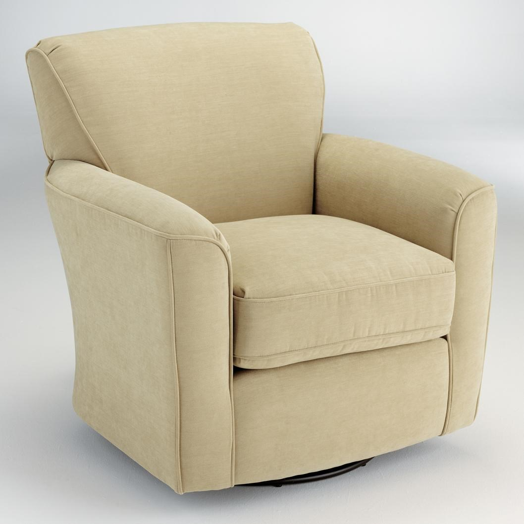 Arm Chairs Swivel Glide Chairs Kaylee Swivel Barrel Arm Chair By Best Home Furnishings At Wayside Furniture