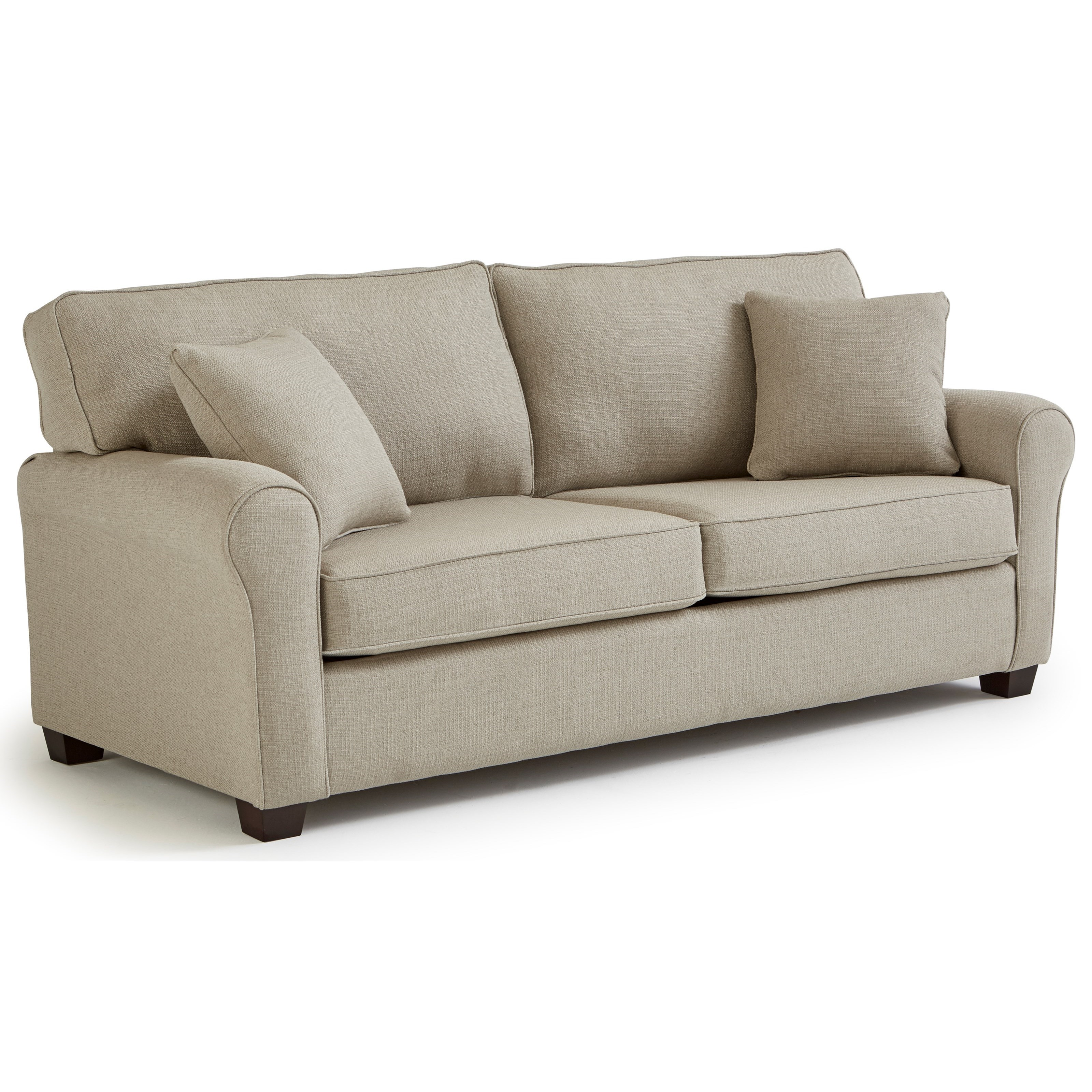 Queen Sofa Bed Shannon Queen Sofa Sleepr By Best Home Furnishings At Turk Furniture