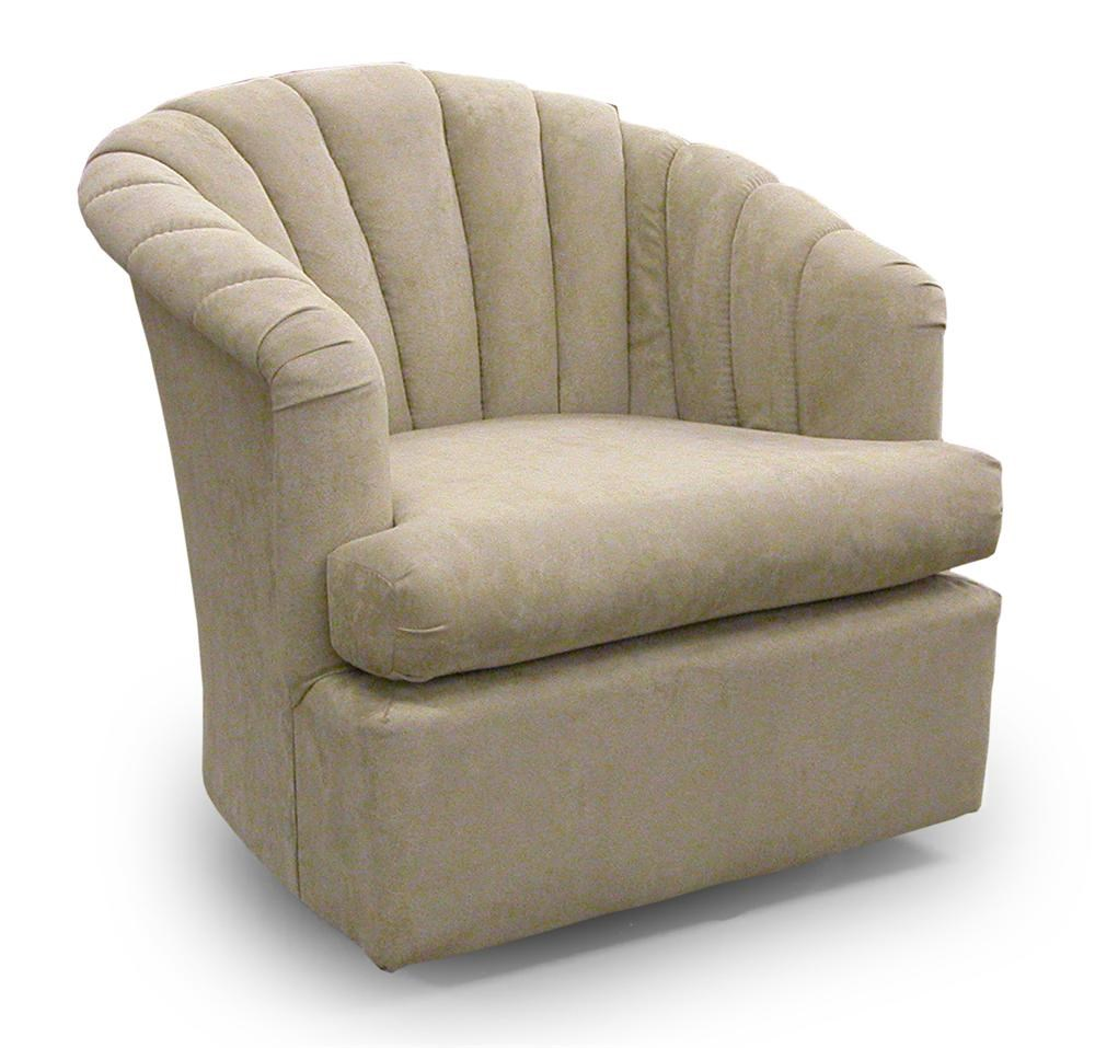 Cushion Chair Chairs Swivel Barrel Clayton Swivel Chair By Best Home Furnishings At Crowley Furniture Mattress