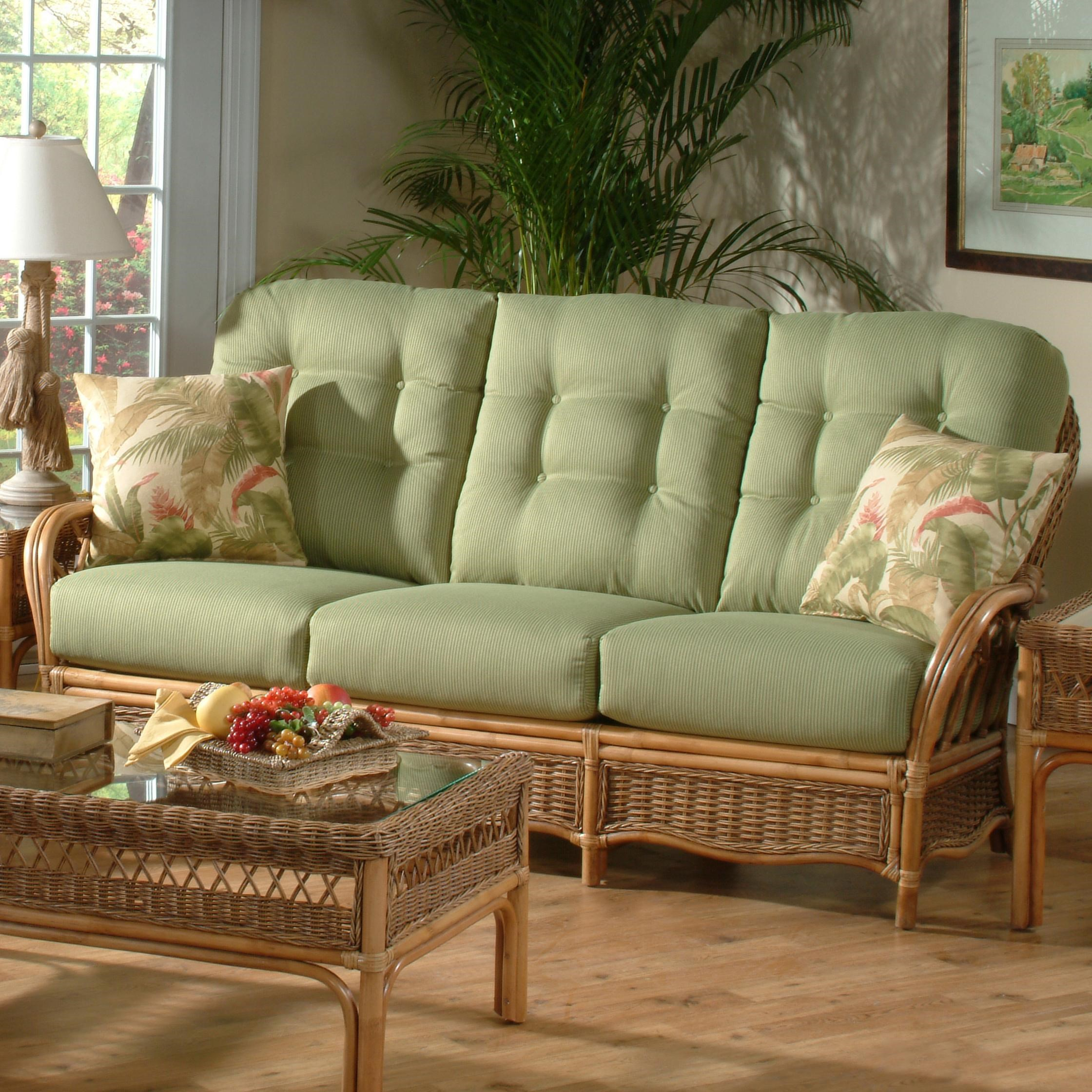 Sofa Rattan Vendor 10 Everglade 905 011 Tropical Rattan Sofa Becker