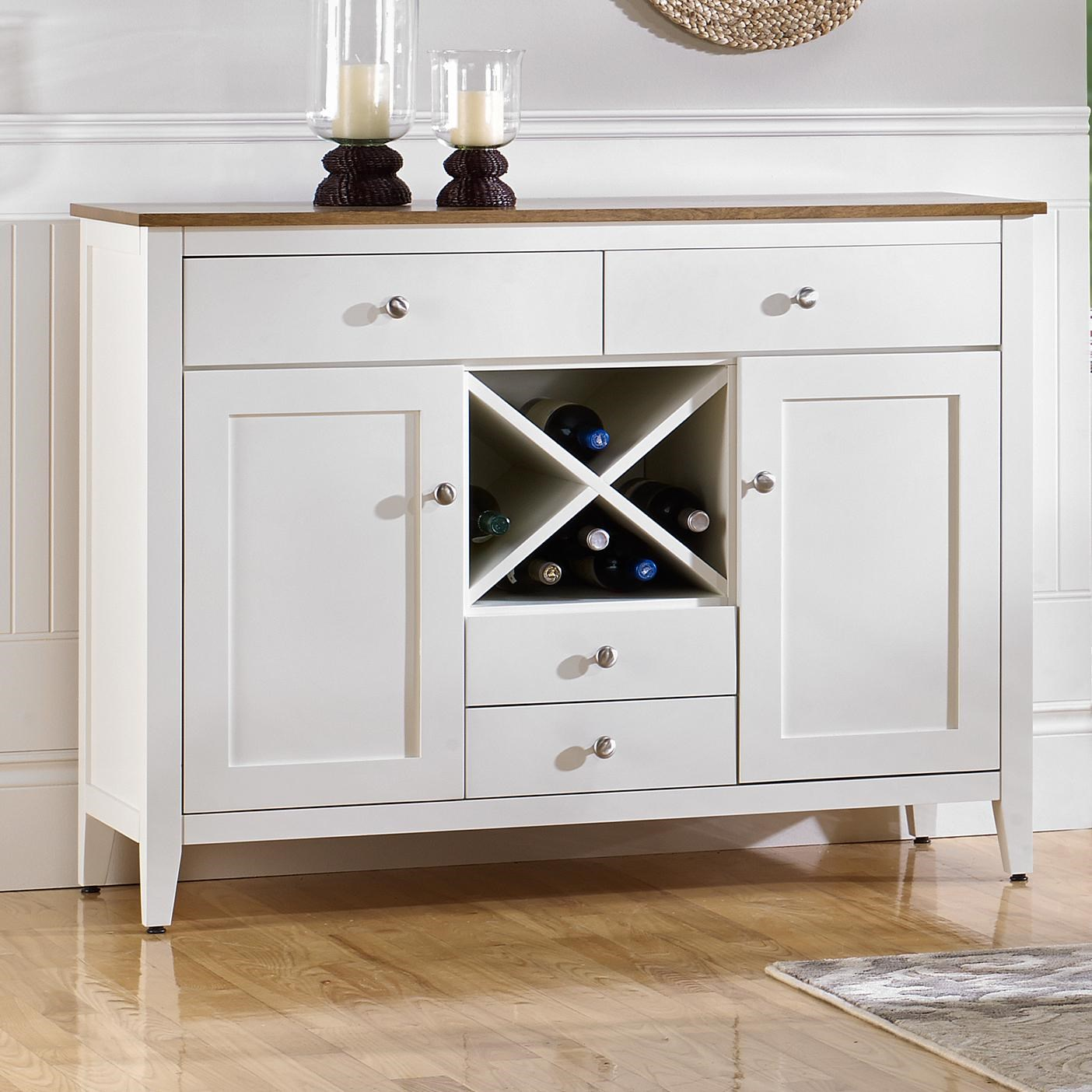 Buffet Sideboard With Wine Rack Canadel Gourmet Custom Dining Customizable Buffet With Wine Rack